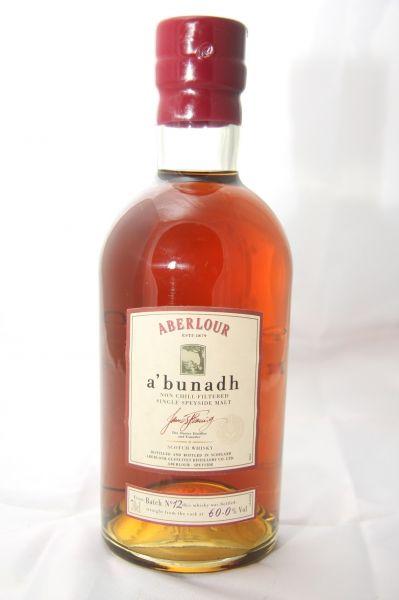 Aberlour A´Bunadh - ca. 60% vol. – ohne Altersangabe - 0,7 Liter
