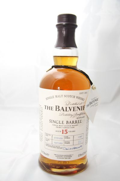 Balvenie Single Barrel - 47,8% vol. – 15 Jahre - 0,7 Liter*