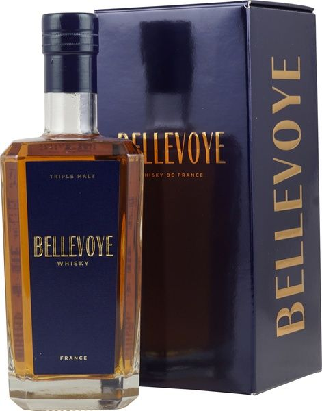 Whisky Bellevoye Blue Triple Malt 40%
