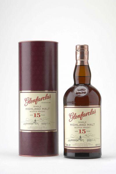 Glenfarclas / 46% vol. / 15 Jahre / 0,7 Liter*