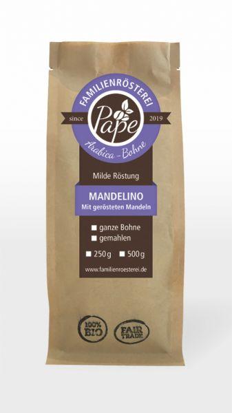 Mandelino, echter Arabica Kaffee mit Mandeln geröstet
