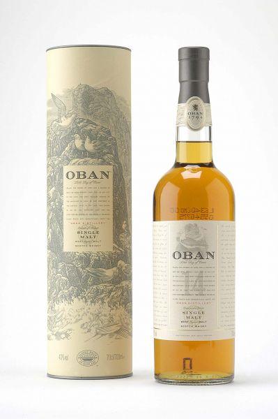 Oban - 43% vol. – 14 Jahre - 0,7 Liter*