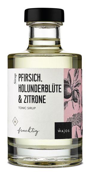 PFIRSICH, HOLUNDERBLÜTE & ZITRONE - Tonic Sirup