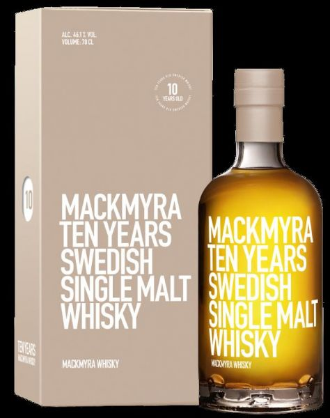 Mackmyra Ten Years 46,1%