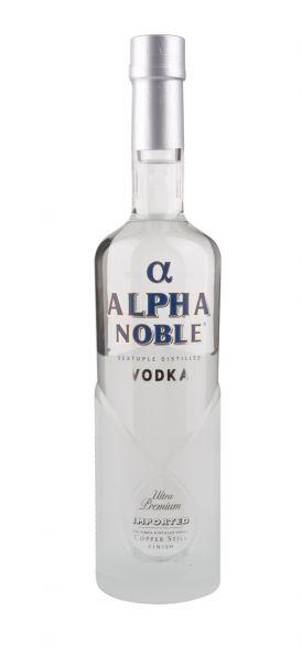 Vodka Alpha Noble - 40%vol. - 0,7 Ltr. Flasche
