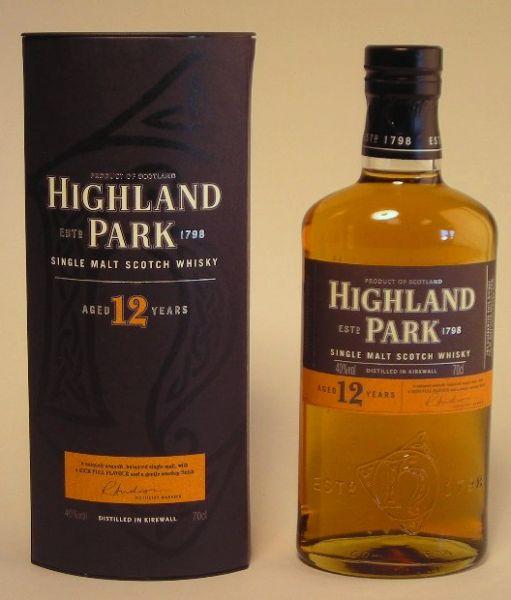 Highland Park - 40% vol. – 12 Jahre - 0,7 Liter*