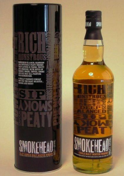 Smokehead - 43% vol. – 0,7 Liter*