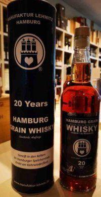 20 jähriger Hamburg Grain Whisky