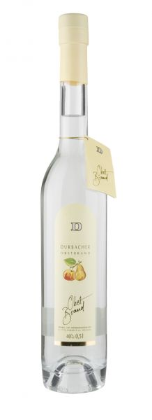 Obstbrand Durbacher Obstbrand - 40%vol. - 0,5 Ltr. Flasche