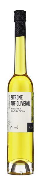 Zitrone auf Olivenöl