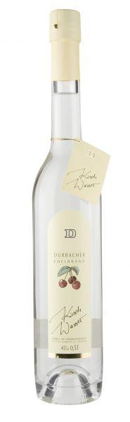 Obstbrand Durbacher Kirschwasser - 45%vol. - 0,5 Ltr. Flasche