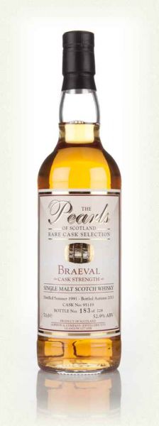 Braeval (Braes of Glenlivet) 1991-2013 52,9% Pearls of Scotland
