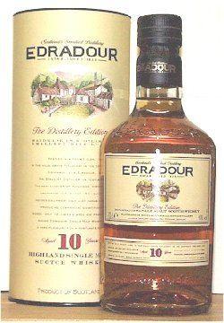 Edradour 10 Jahre / 40% vol. / 0,7 Ltr.