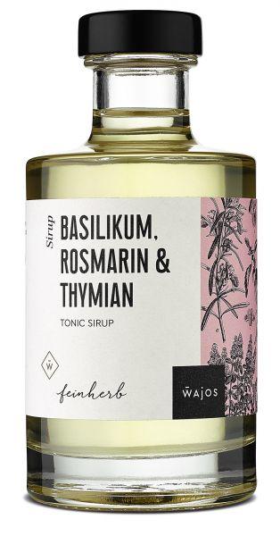 BASILIKUM, ROSMARIN & THYMIAN - Tonic Sirup