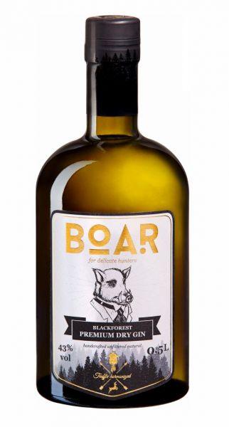 BOAR GIN ® 0,5L HÖCHSTPRÄMIERTER GIN DER WELT